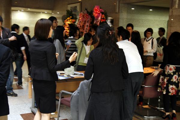 독도아카데미 제6기 등록현장 (국회의원회관 소회의실)
